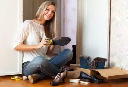 После окончания сезона рекомендуется профилактическая обработка обуви