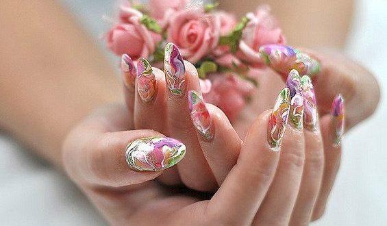 Фото акриловых ногтей