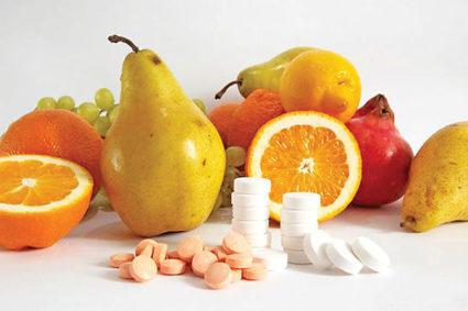 Обогатите свой рацион полезными фруктами и овощами