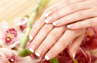 Здоровая ногтевая пластина не имеет никаких вкраплений