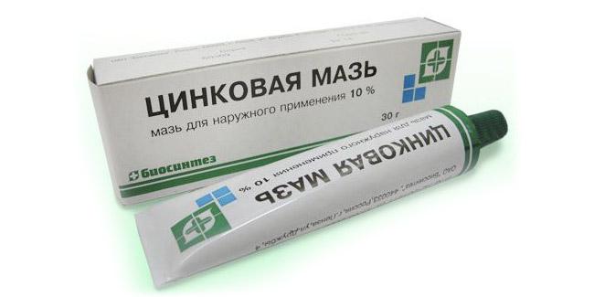 Цинковая мазь для лечения грибка ногтей
