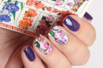 Порой сделать красивый декор ногтей весьма просто