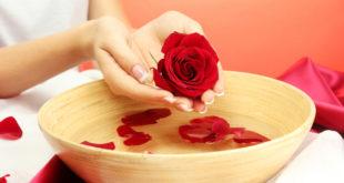 Водные процедуры для ногтей также могут быть креативными