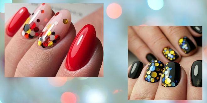 Камифубуки - разноцветный взрыв на ногтях